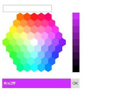 Hexagon Color Picker Plugin With Jquery And Jquery Ui Free