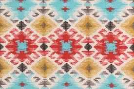 mill creek stefan fresco printed poly outdoor fabric in santa fe 8 95 per yard