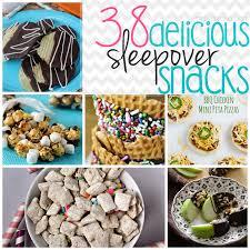 delicious sleepover snack recipes
