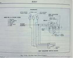 6 way power seat geralds 1958 cadillac eldorado seville 1967 edge the 6 way power seat wiring diagram