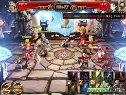 seven knights ios review mmohuts Summoners War Surprisr Box Fuse the visuals dazzle but there isn't a lot you can do during action scenes