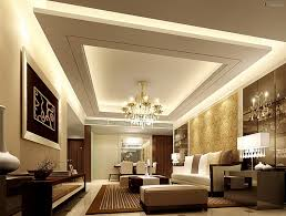 Contemporary  Fresco of Vaulted Living Room Ideas. Ceiling Design ...