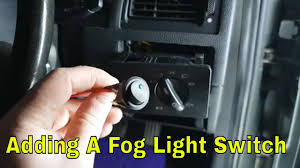 Ford Mondeo Fog Lights Switch Ford Mondeo Mk3 Fog Light Switch Install
