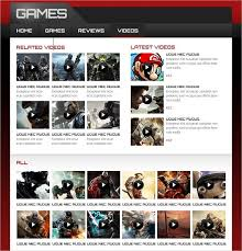 website template video gaming website templates pro tips for building a gaming website