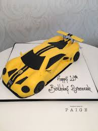 3d Ford Gt Designer Cakes By Paige