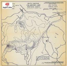 Calabogie Lake Depth Chart Calabogie Ontario Anglers Atlas