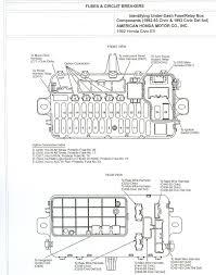 why my 94 honda civic ex speedometer doesn't work? Honda Civic Ex Fuse Box Diagram Honda Civic Ex Fuse Box Diagram #37 2006 honda civic ex fuse box diagram