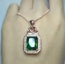 3ct emerald cut green emerald diamond
