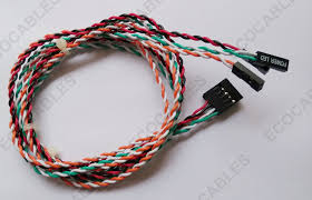 dupont 10 pin custom wire harness front panel twisted pair cable Custom Cable And Wire Harnesses dupont 10 pin custom wire harness front panel twisted pair cable 750mm length custom cable & wire harness manufacturer blaine mn