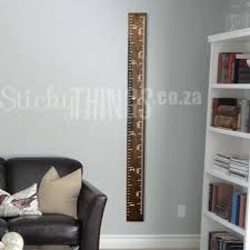 wall growth chart this growth chart ruler sticker is a ruler decal that has been designed