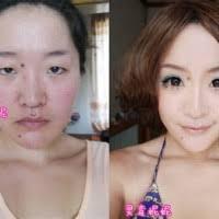 asian man transforms into woman makeup