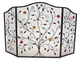 decorative fireplace screens with idea 17