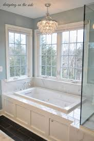 master bath lighting. master bath marble tile sw rain crystal chandelier that looks like lighting