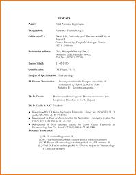 11 Job Application Letter With Biodata Ledger Paper Formal