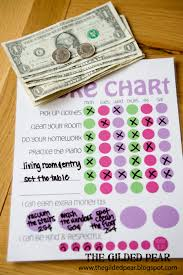 Money Chart For Kids Printable Free Printable Chore Charts For Kids Fab N Free