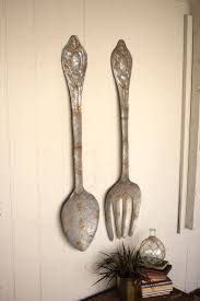 Large Kitchen Wall Decor 17 Best Ideas About Fork Spoon Wall Decor On Pinterest Eat Sign