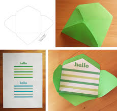 Printable Envelope Template Free Printable Mini Envelope Templates And Liners