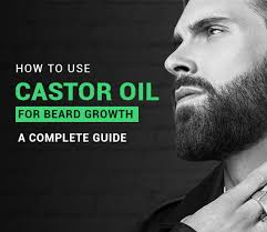 castor oil for beard how to use