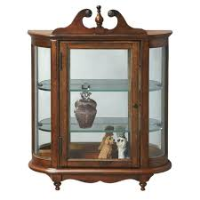 small wall curio cabinets butler masterpiece wall curio cabinet reviews small curved glass curio cabinet small