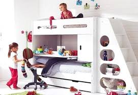 bunk bed with slide and desk. Boys Bunk Bed With Slide Kids Sets Satisfy The Children A White . And Desk L