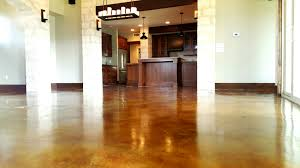 Concrete Wood Floor Concrete Flooring Staining Pros Cons Homeadvisor