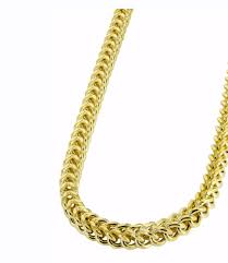 wearing gold chains for men