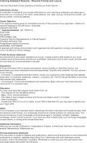 Resume-Samples-Assistant-Resumescatering-Assistant - Travelturkey.us ...