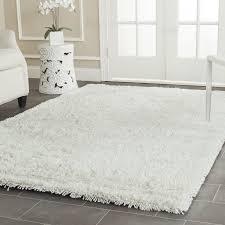 white shag rug. Kirtley White Shag Area Rug A