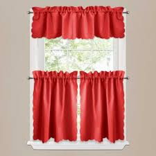 decor red tier kitchen curtains for beautiful kitchen in red kitchen curtains with regard to present house