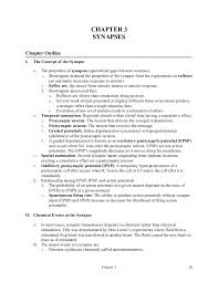 psych chapter comphrensive outline example