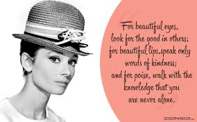 Audrey Hepburn Beauty Quote Best of 24 Liberating Quotes By Audrey Hepburn On Beauty Self Worth