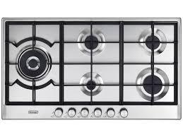 Slimline Kitchen Appliances 90cm 5 Burner Gas Cooktop Deghsl90 Delonghi Australia