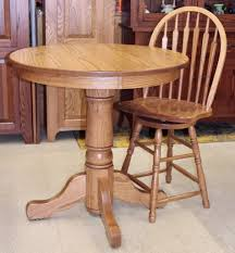 36 round single pedestal pub table 859 00 stools additional if needed