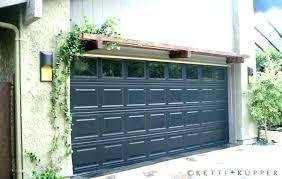 trellis over garage door with pergola eclectic