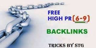 10 Free Dofollow Backlinks From High PR Websites - Tricks By STG