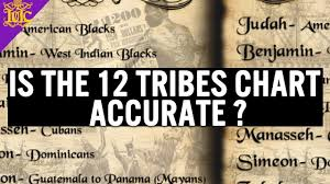 The Israelites Is The 12 Tribes Chart Accurate