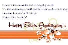 25th Anniversary Quotes Impressive Silver Jubilee Wedding Anniversary Quotes48th Anniversary Wishes