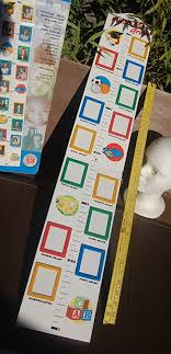 Watch Me Grow Growth Chart With Picture Frames Amazon Co
