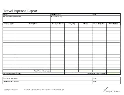 Excel Travel Expense Report Template Travel Expense Form Excel Report Sample File Expenses Claim