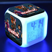2019 xmas glow in dark toys game roblox led alarm clock light digital night electronic anime toys for kid christams party favor gift from afantilamp