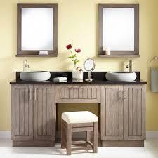 Vanity : Double Bathroom Vanities With Makeup Area Bathroom Vanity ...