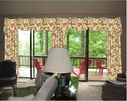 image of window treatment ideas for sliding glass doors plans