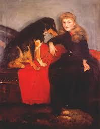 Miss Eva Fulton by Sir John Lavery as art print (#871504)