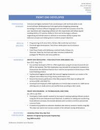 Java Web Developer Resume Sample Backend Developer Resume Best Of Web Developer Resume Template 19