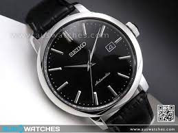 buy seiko automatic leather strap mens watch srpa27k1 srpa27 seiko automatic leather strap mens watch srpa27k1 srpa27