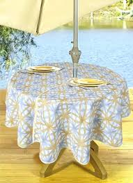 fitted outdoor tablecloth round fabric elastic with edge tablecloths f