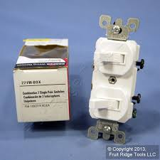 cooper white double wall light switch duplex toggle 15a single cooper white double wall light switch duplex toggle 15a single pole 271w boxed fruit ridge tools llc