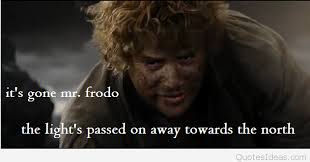 frodo and sam quote image