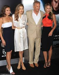 She graduated from california state university fullerton with a degree in business. Kevin Costner Brings His Wife And Two Daughters To Man Of Steel Premiere Daily Mail Online Kevin Costner Celebrity Kids Famous Moms