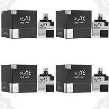 4 pack <b>24 Carat White</b> Gold 100ml Perfume EDP Oudh Parfum ...